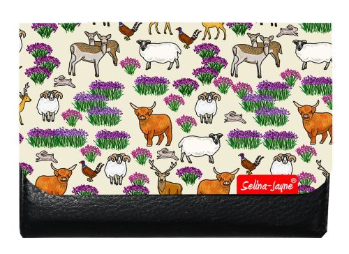 Selina-Jayne Scottish Highlands Limited Edition Designer Small Purse
